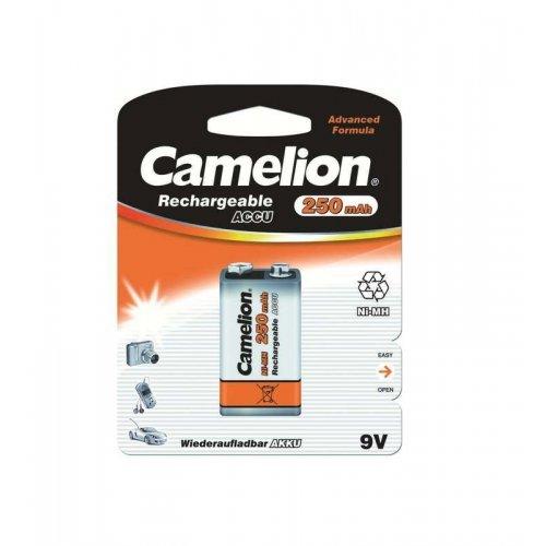 Аккумулятор 6F22 NI-MN 250мА.ч BP-1 (блист.1шт) Camelion 5014