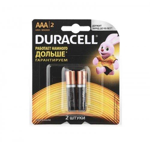 Элемент питания алкалиновый LR MN 2400/LR03 Basic BP-2 (блист.2шт) Duracell Б0014052/Б0026812