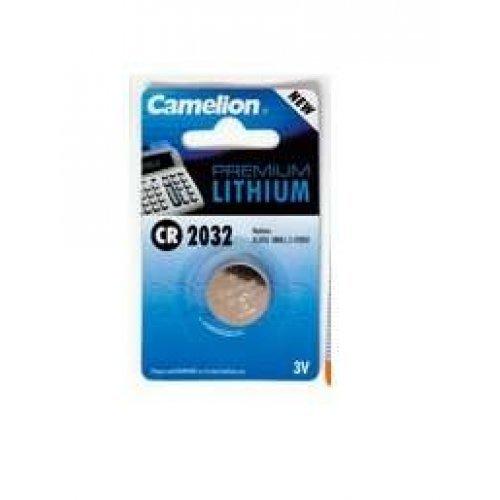 Элемент питания литиевый CR CR2032 BL-1 (блист.1шт) Camelion 3066