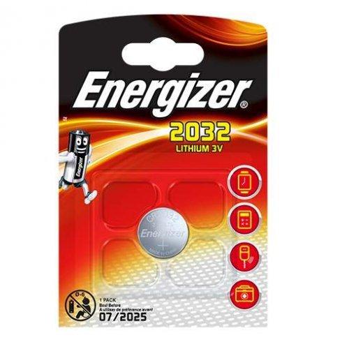 Элемент питания литиевый Lithium CR2032 BL1 (1/10/140) (блист.1шт) Energizer 22966