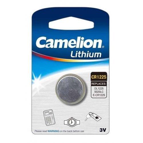 Элемент питания литиевый CR CR1225 BL-1 (блист.1шт) Camelion 3608