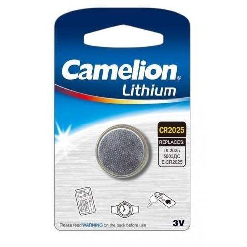 Элемент питания литиевый CR CR2025 BL-1 (блист.1шт) Camelion 3067