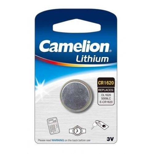 Элемент питания литиевый CR CR1620 BL-1 (блист.1шт) Camelion 3610