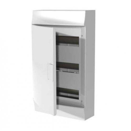 Щит распределительный навесной ЩРн-п Mistral41 36М пластиковый непрозрачная дверь с клеммами 3ряда