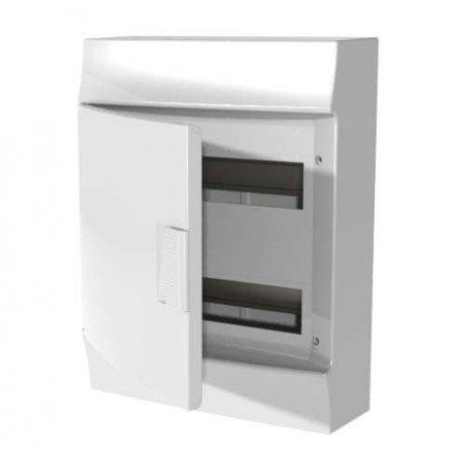 Щит распределительный навесной ЩРн-п Mistral41 24М пластиковый непрозрачная дверь с клеммами
