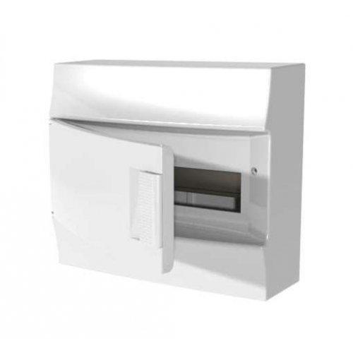 Щит распределительный навесной ЩРн-п Mistral41 12М пластиковый непрозрачная дверь с клеммами
