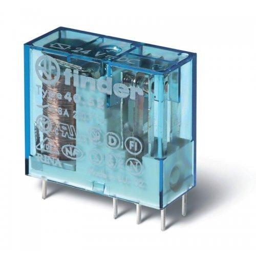 Реле миниатюрное универсальное 2CO 8А 24В DC FINDER 405290240000
