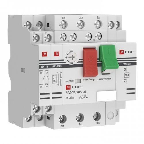 Выключатель авт. защиты двиг. АПД-32 2.5-4А EKF apd2-2.5-4.0