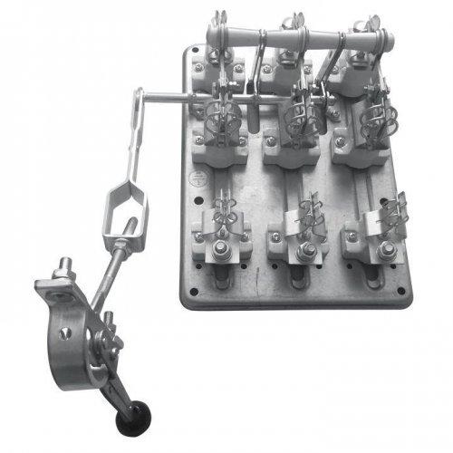 Разъединитель РПС-4 400А левый привод без ППН PROxima EKF rps-400l