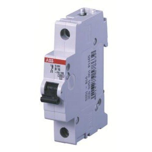 Выключатель автоматический однополюсный 10А В S201 6кА