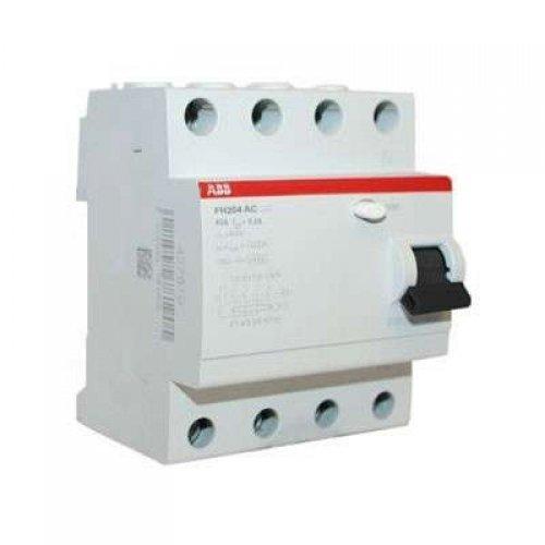 Выключатель дифференциального тока (УЗО) 4п 25А 30мА FH204 АС