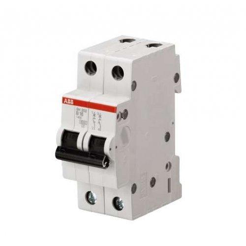 Выключатель автоматический двухполюсный 6А С SH202L 4.5кА
