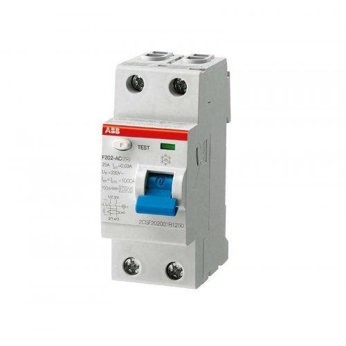 Выключатель дифференциального тока (УЗО) 2п 40А 100мА F202 АС