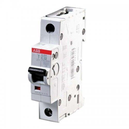 Выключатель автоматический однополюсный 10А С S201 6кА