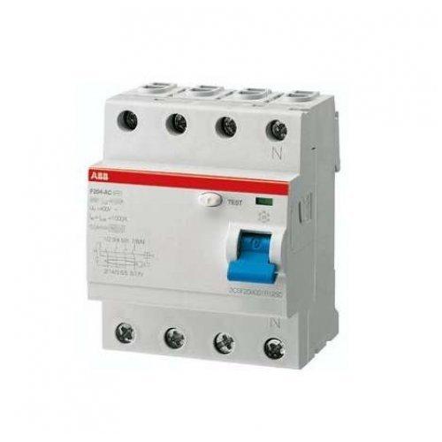 Выключатель дифференциального тока (УЗО) 4п 40А 30мА F204 АС