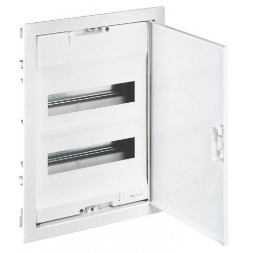 Шкаф встраиваемый Nedbox 2 ряд 24+4мод. 430х330х86 Leg 001432