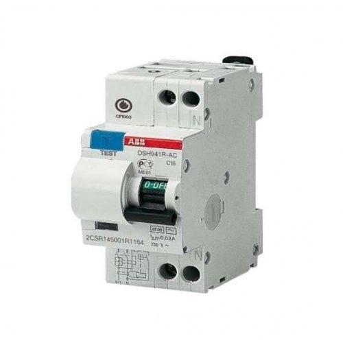 Выключатель автоматический дифференциального тока DSH201R C16 AC30 ABB 2CSR245072R1164