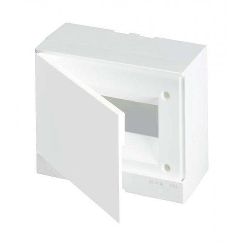 Бокс настенный Basic E 8М бел. непрозр. дверь (с клемм) ABB 1SZR004002A2103