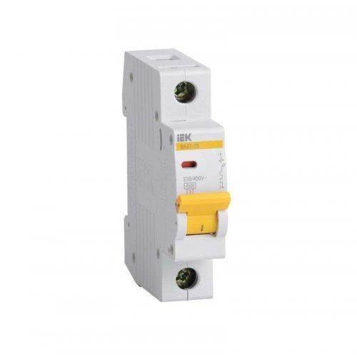 Выключатель автоматический модульный 1п C 2А 4.5кА ВА47-29 ИЭК MVA20-1-002-C