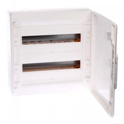 Шкаф XL3 125 2х18мод. бел. двер. (450х450х128) Leg 401647