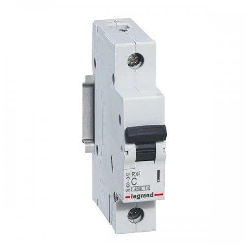 Выключатель автоматический однополюсный RX3 4,5 кА C 6 А