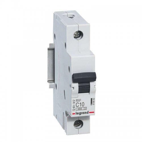Выключатель автоматический однополюсный RX3 4,5 кА C 10 А