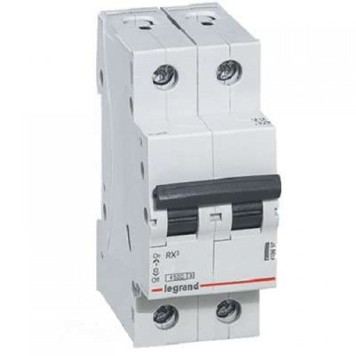 Выключатель автоматический двухполюсный RX3 4,5 кА C 25 А