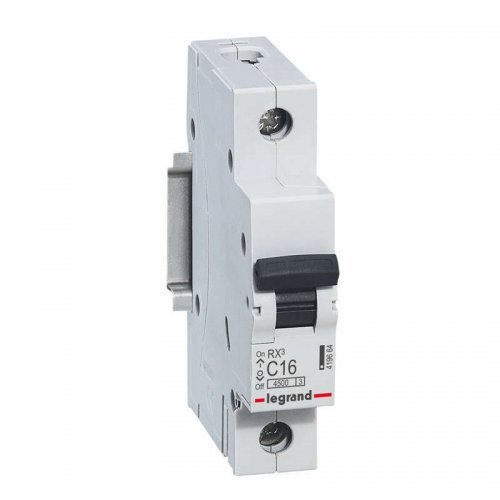 Выключатель автоматический однополюсный RX3 4,5 кА C 16 А