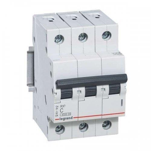Выключатель автоматический трехполюсный RX3 4,5 кА C 25 А