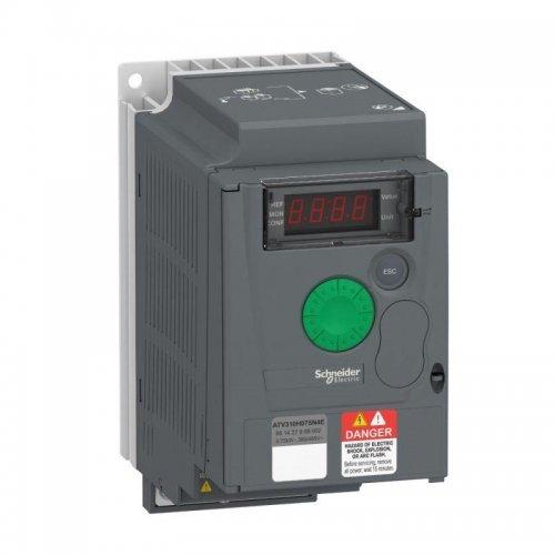 Преобразователь частоты ATV310 0.75кВт 380В 3ф SchE ATV310H075N4E