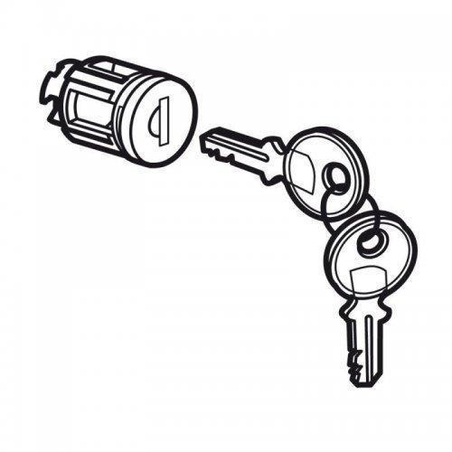 Замок для XL3 400 тип №405 для металлических или остекленных дверей (в комплекте 2ключа) Leg 020291