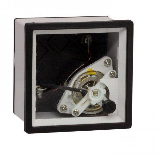 Амперметр аналоговый AMA-721 (без шкалы) на панель 72х72 (квадратный вырез) трансформаторное подкл. PROxima EKF am-a721/ama-721