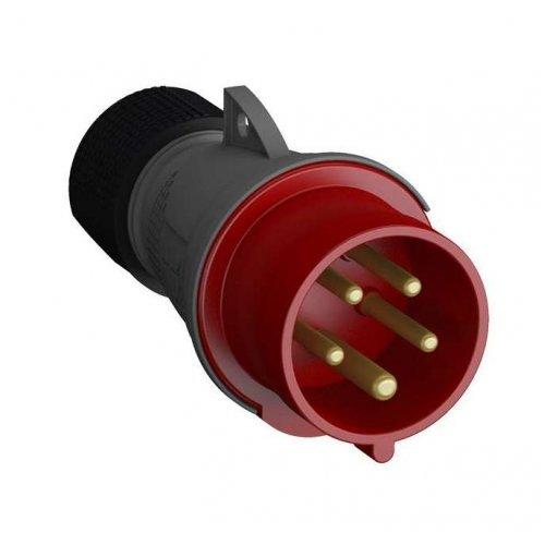 Вилка кабельная 32А 3Р+N+E IР44 переносная 415В Easy&Safe