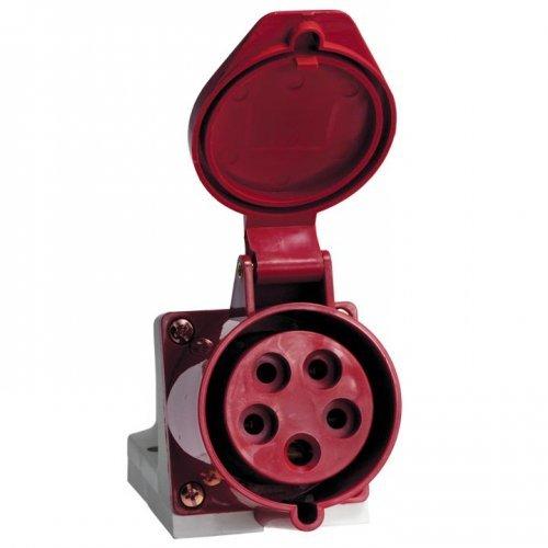 Розетка кабельная 32А 3Р+N+Е IP44 на поверхность 380В