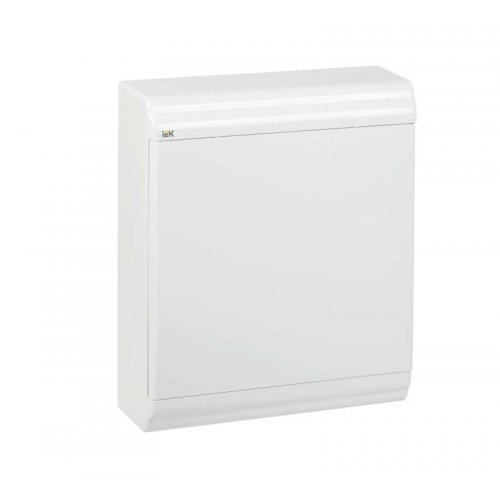 Бокс ЩРН-П-24 мод. навесной пластик IP41 PRIME бел. дверь ИЭК MKP82-N-24-WD-41-10