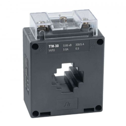 Трансформатор тока ТТИ-30 100/5А кл. точн. 0.5S 5В.А ИЭК ITT20-3-05-0100
