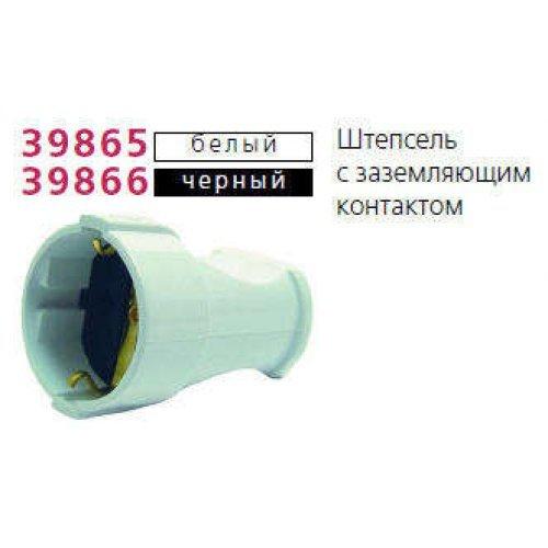 Штепсель с заземл. черн. Makel 10053