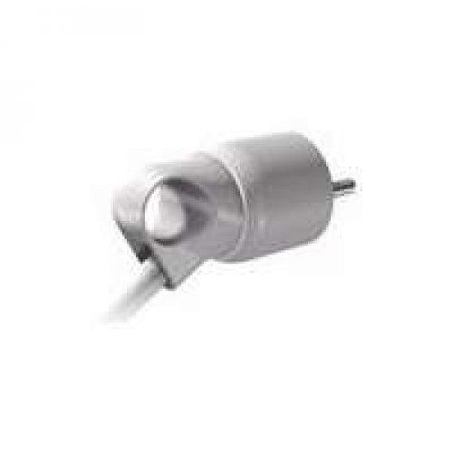 Вилка электрич. каб. Helium 16А 2P+E прямая с кольцом бел. Leg 050190