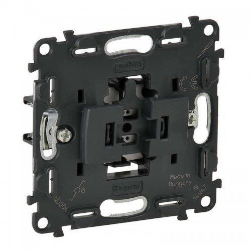 Механизм переключателя Valena In'matic 10АХ 250В безвинтовые зажимы Leg 752016