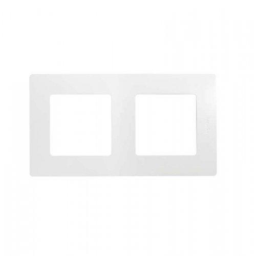 Рамка 2-м Etika бел. Leg 672502