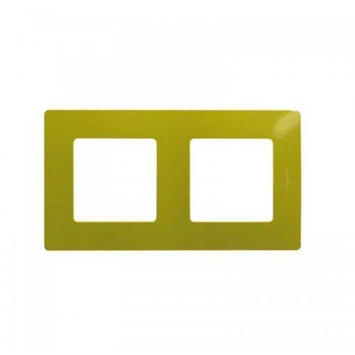 Рамка 2-м Etika зел. папоротник Leg 672542