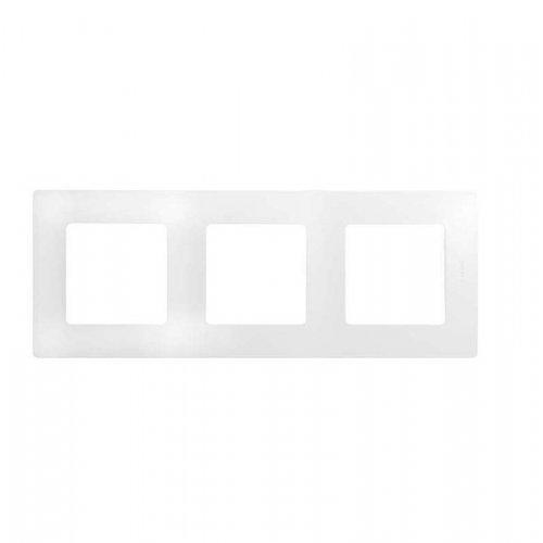 Рамка 3-м Etika бел. Leg 672503