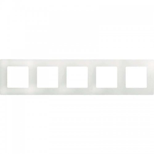 Рамка 5-м Etika бел. Leg 672505