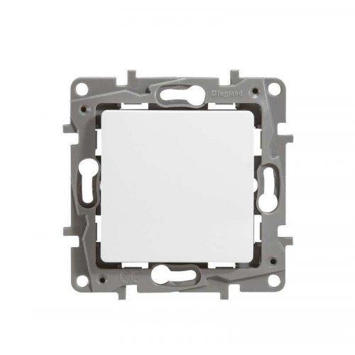 Механизм выключателя 1-кл. СП Etika 10А IP20 250В авт. клеммы бел. Leg 672201