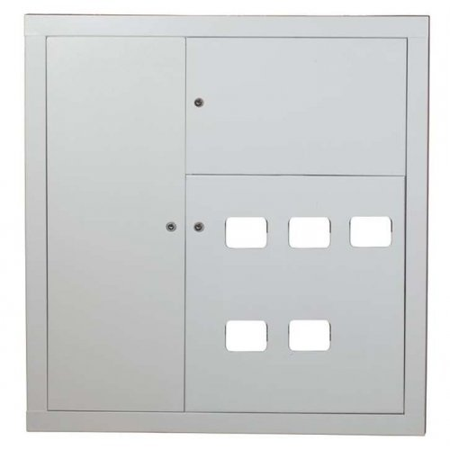 Щит этажный ЩЭ 5кв. навесной слаботочка слева (945х880х220) IP31 PROxima EKF mb10-n-5z