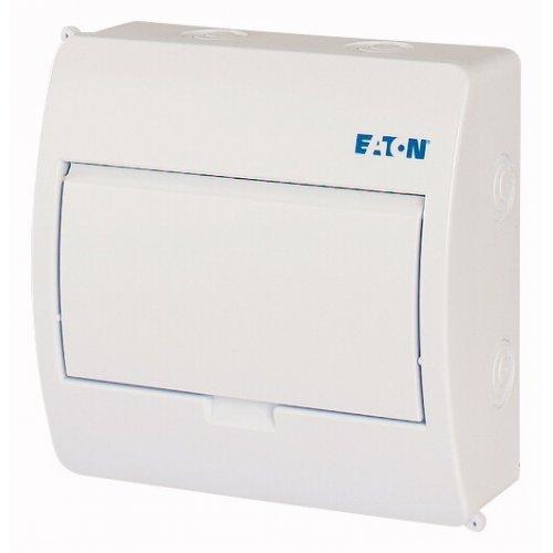 Щиток встраив. 8мод. пластик бел. дверь BC-O-1/8-TW-ECO EATON 281690