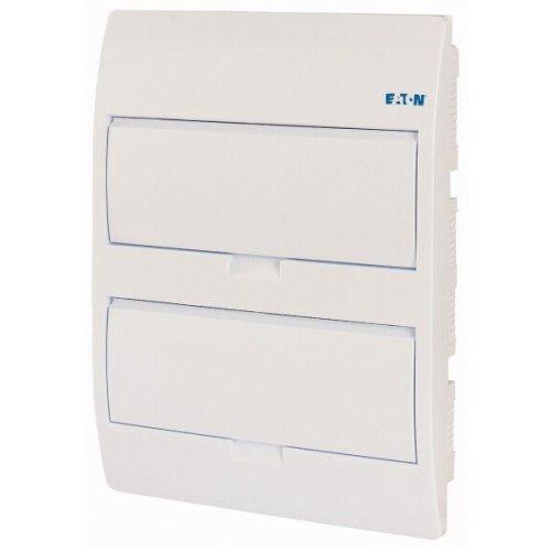 Щит компактный встроенного исполнения 2 ряда 24-мод. BC-U-2/24-TW-ECO бел. дверь пластик EATON 281710
