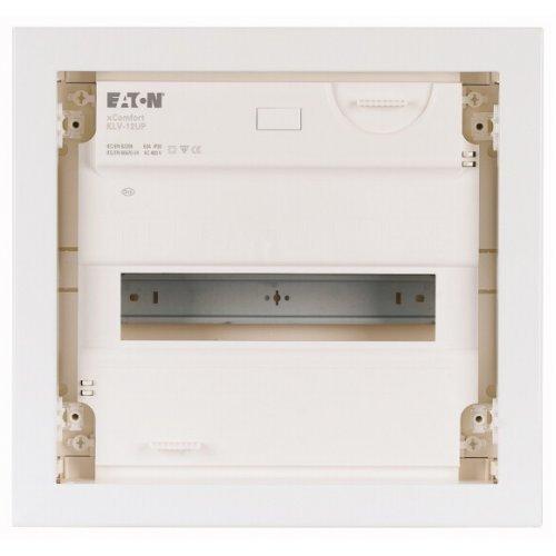 Щит компактный встроенного исполнения 1 ряд KLV-12UPP-SF пласт. бел. дверь EATON 178799