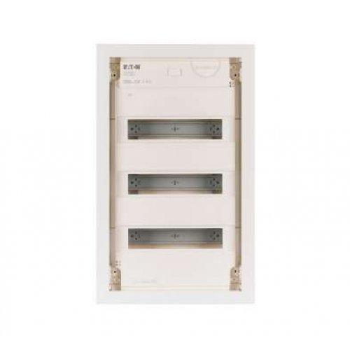 Щит компактный встроенного исполнения 3ряд KLV-36UPS-SF бел. дверь пластик EATON 178819