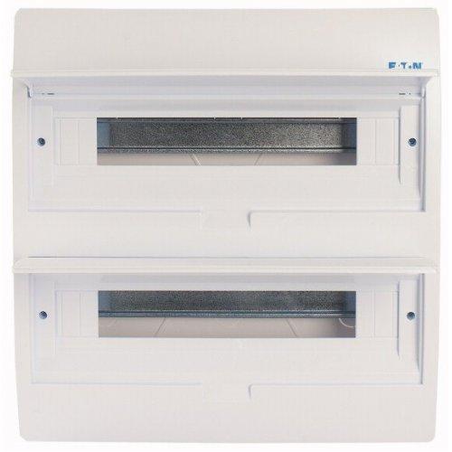 Щит компактный встроенного исполнения 2 ряда 36-мод. BC-U-2/36-TW-ECO бел. дверь пластик EATON 281711